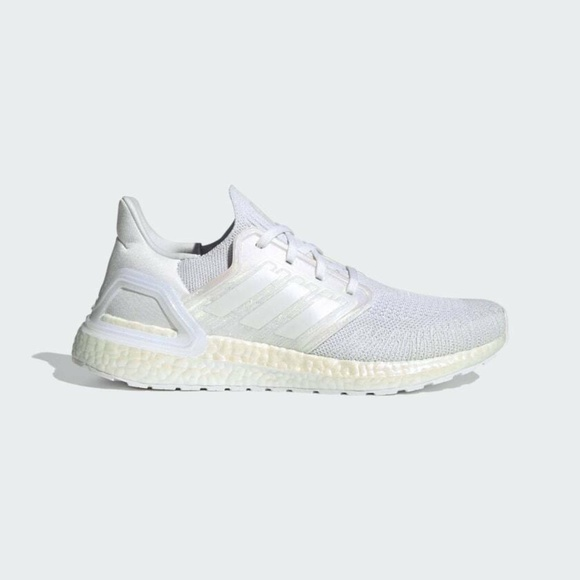 Adidas UltraBoost 20 Low Mens Running Shoes White FW8721 NEW Multi Sz